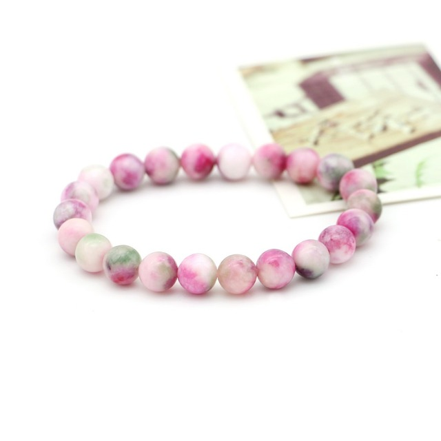 rainbow stone beads bracelet pretty jewellery  new arrival new year gift for friendship Classic decorations free shipping