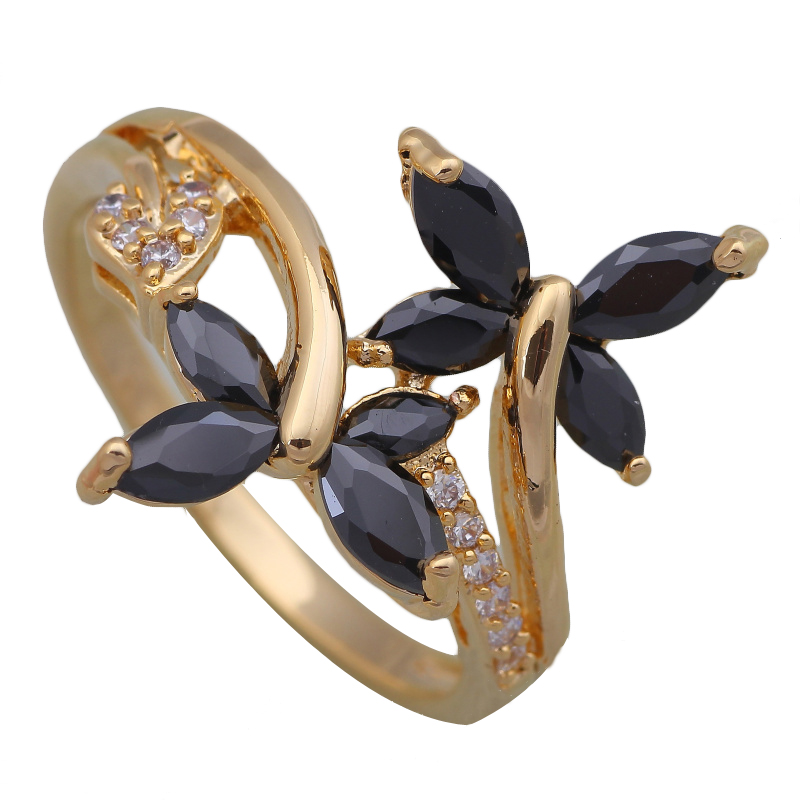 promotion s rings fashion jewelry 18k gold plated