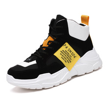New Arrival Men Fashion Top High Sneakers Luxury Casual Shoes Men Boots Fashion Spring Autumn Shoes fires spring autumn new models men shoes fashion comfortable casual shoes for male soft mesh lazy shoes high top sock sneakers