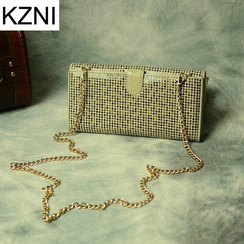 ФОТО KZNI womens genuine leather crossbody bag purses and handbags bags designer bolsas femininas bolsas de marcas famosas L030930