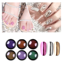 CHIVENIDO Dipping Powder Nails Neon Pigment Nail Dip Holographic Glitter Sugar Effect Decorations