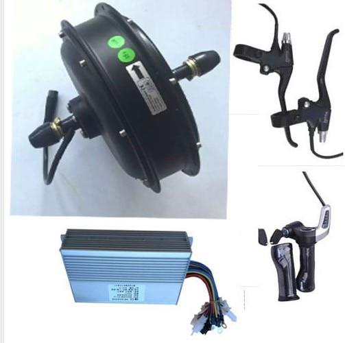 Electric Bike Motor Kit Price: 500W 48V Rear Wheel Hub Motor Electric Bicycle Motor Kit
