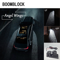 LED Door Welcome Lamps Lights Ghost Shadow Laser Projector Wings Emblems Universal Warming Lights Turning Lights Accessories