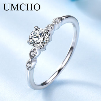 Silver 925 Luxury Bridal Cubic Zirconia Ring 1
