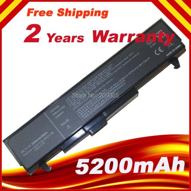 Bateria do portátil para LG LE50 LM LM40 LM50 LM60 LM70 LS45 LS50 LS55 LW40 LS70 LW60 LW70 LW65 LW75 R1 R400 R405 RD400 série