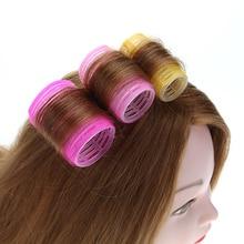 Cute Convenient Self-Adhesive Plastic Hair Curlers Set