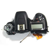 D7500 Top Cover With  LCD Screen Camera Repair Parts For Nikon