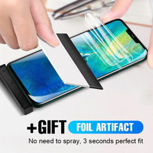 10D Full Screen Hydrogel Film For Huawei Mate 20 P30 P20 Pro Lite Protector Honor 8X 10 9 V20 Protective