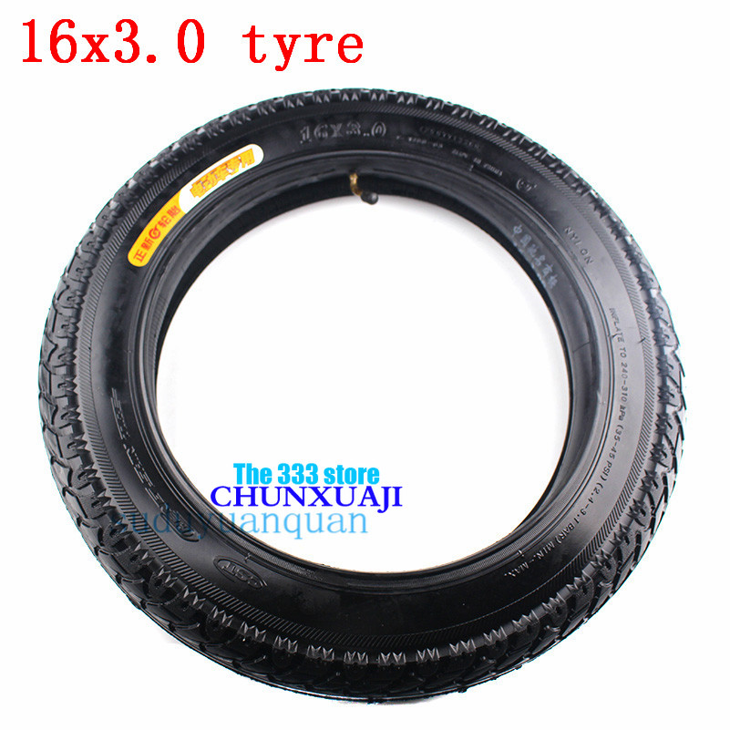 2Pcs 16x3.00 Tyre Inner Tube Bent Stem fit Electric Scooters E-Bike Bicycle US
