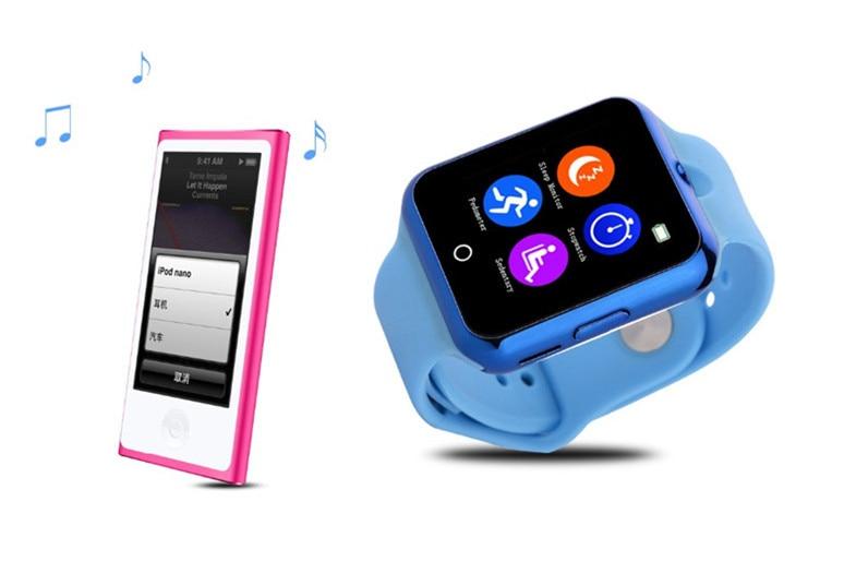 Heart Rate Monitor font b Smart b font Bluetooth Watch C88 Sync Notifier Support SIM TF