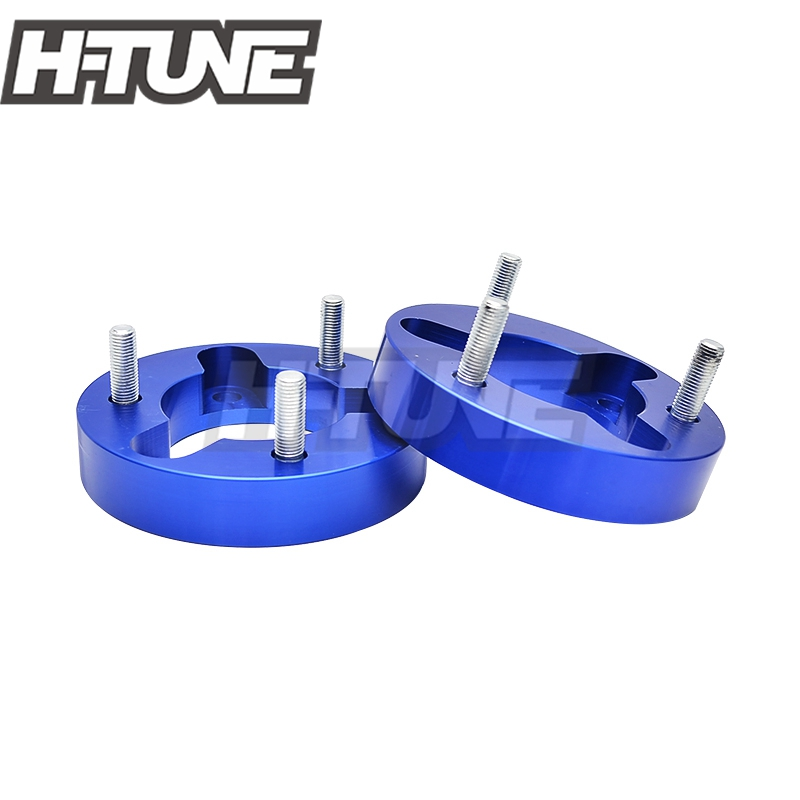 H-TUNE 4x4 Accesorios 32mm Front Coil Strut Shock Spacer Lift Kit for Navara D40 NP300 4WD 05-15 lift kit for toyota hilux revo