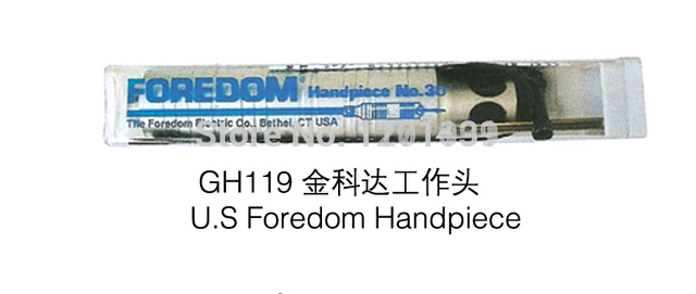 Hot sale GH119 U.S Foredom Handpiece for Flex Shaft Machine jewelry Handpiece jewelry tools