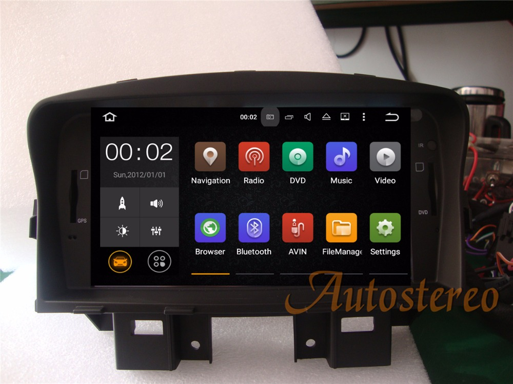 Android7 8 Car GPS Navigation auto Car DVD CD Player for Chevrolet CRUZE 2008-2011 Stereo Automedia Sat Nav Headunit multimedia модуль avaya ipo 500 rack mntg kit 700429202