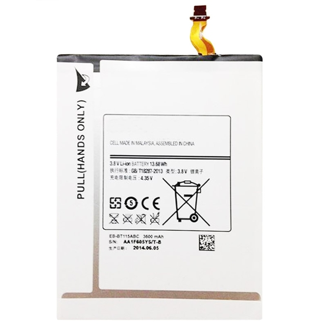 US $12 49 |Original EB BT111ABC T3600E 3600mAh Battery For Samsung Galaxy  Tab 3 Lite 7 0/ SM T110/ SM T111 3 8V Rechargeable Li ion Battery-in Mobile