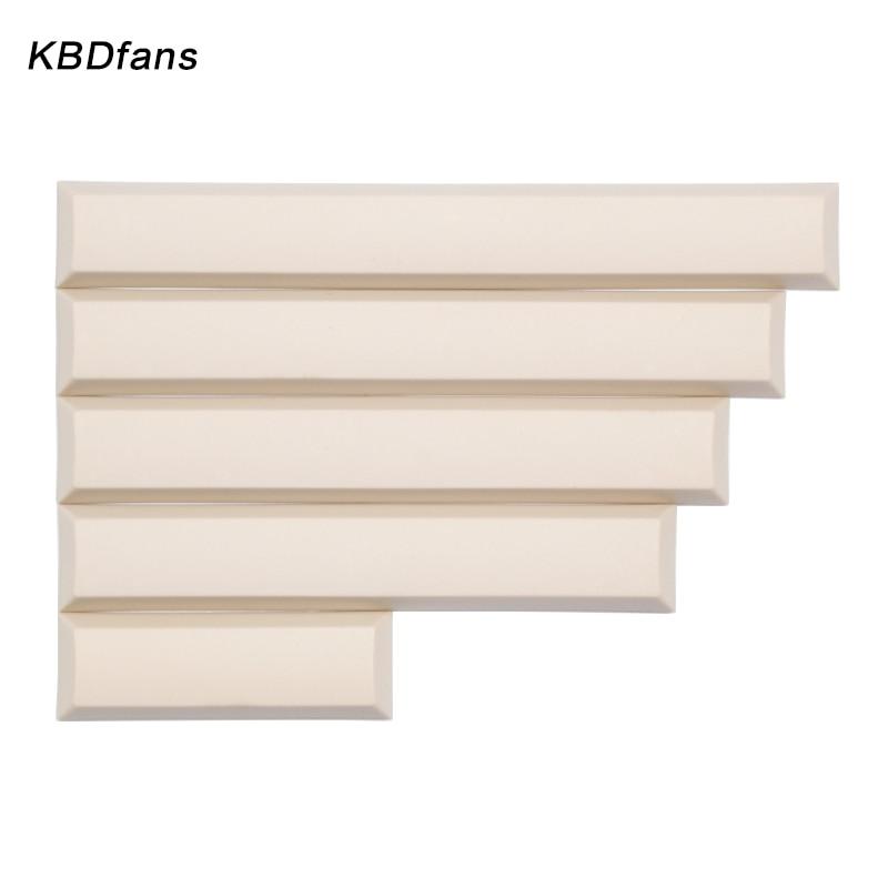Dsa  3u  5.5u 6u  6.5u 7u Blank Keycaps For Gh60 60% Filco K70 K95