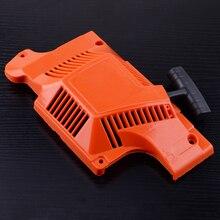 Letaosk Terugslag Rewind Pull Cord Starter Monteren Fit Voor Husqvarna 55 51 50 Chainsawaccessories