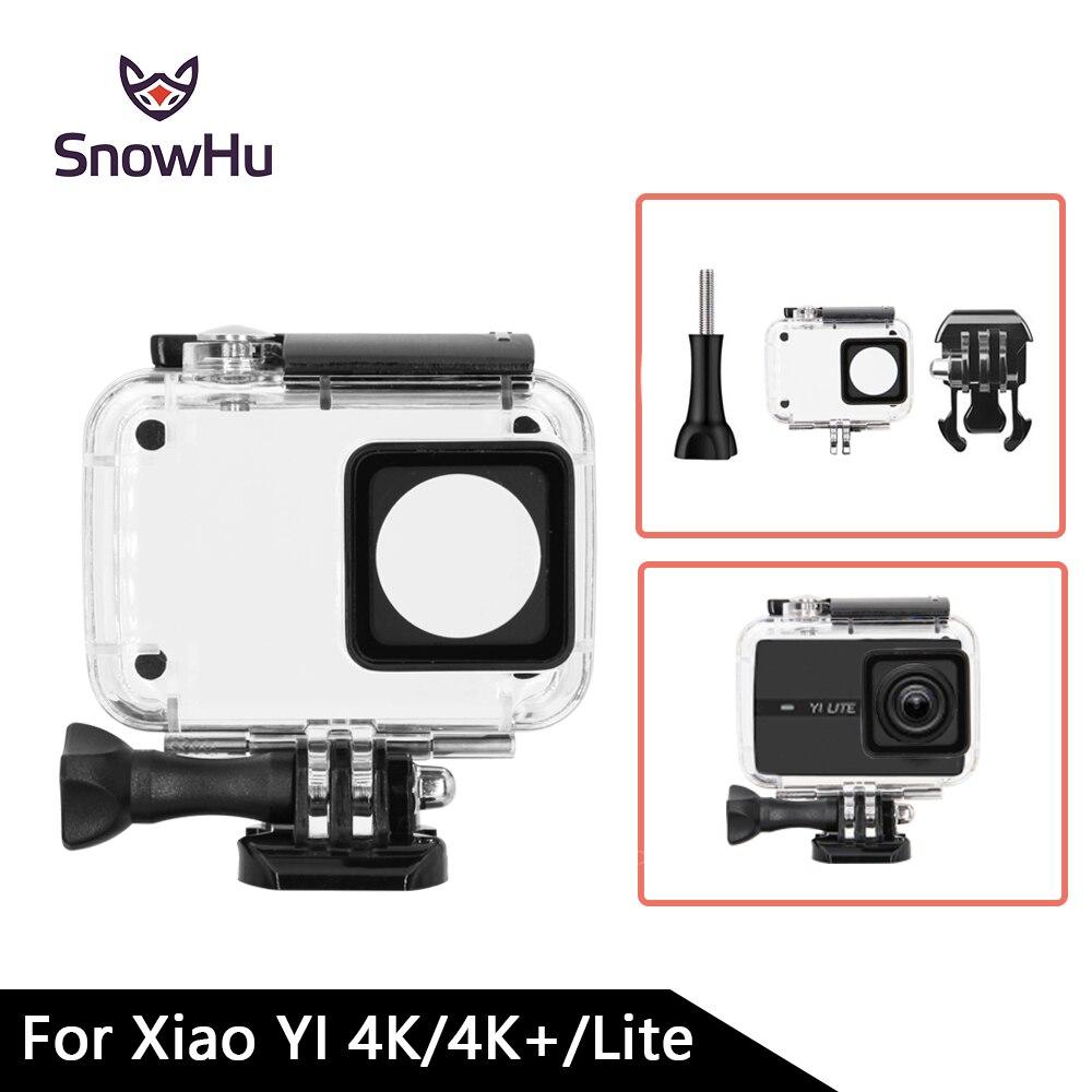 Snowhu buceo 45 m impermeable para Xiaoyi Yi deportes Cámara II 2 caso xiaomi Yi 4 K Cámara de Acción 2 Protección GP300