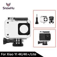 SnowHu Diving 45m Waterproof Case For Xiaoyi YI Sports Camera II 2 Case Xiaomi YI 4K