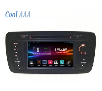 car radio dvd gps for VW seat ibiza2009-2013 stereo system 3g wifi bloooth screenshot