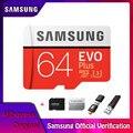 SAMSUNG Microsd Kart 256G 128 GB 64 GB 32 GB 16 GB 8 GB 100 Mb/s Class10 U3 U1 mikro SD Kart Hafıza Kartı TF Flash Kart