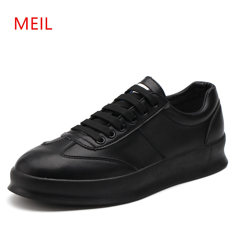 Mens Sneakers Casual Leather Shoes Men Black Sneakers Men's Casual Breathable Red White Boat Shoes Platform Shoes Moccasins Men new mens shoes casual black sneakers leather shoes men loafers white platform driving shoes for men trainers chaussures hommes