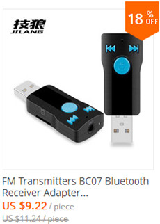 FM Transmitters BC07 Bluetooth Receiver Adapter Bluetooth Car MP3 Player Handsfree Card Playback AUX Output for iphone & android