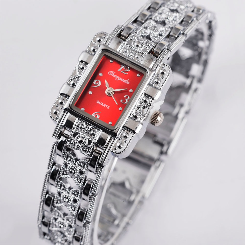 CHAOYADA Women's Bracelet Wristwatch Luxury Brand Stainless Steel Watches Ladies Quartz Dress Watch Clock Relogio Feminino