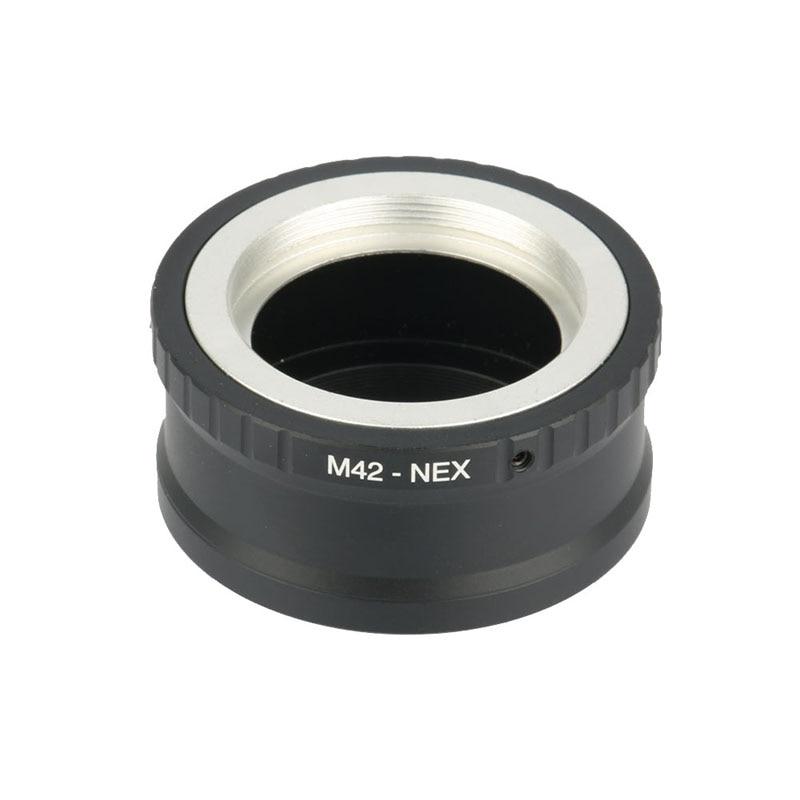 Camera Lens Mount Adapter Ring M42-NEX For M42 Lens And For SONY NEX E NEX3 NEX5 NEX5N Lens Mount Adapter Ring Camera fotga lens adapter high quality adapter ring for m42 lens to micro 4 3 mount camera for olympus panasonic dslr camera