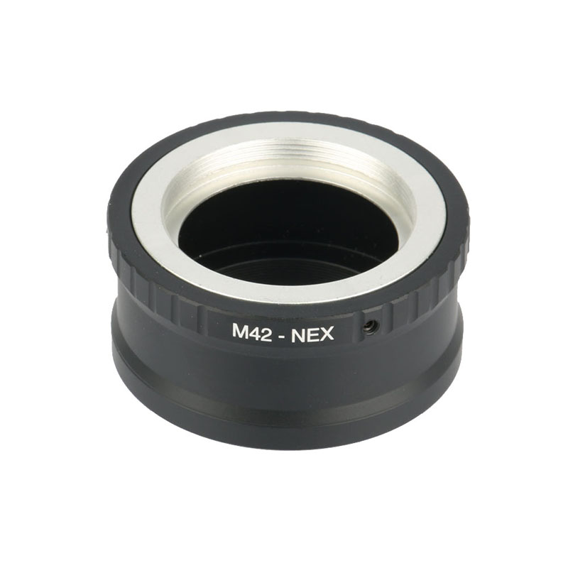 Camera Lens Mount Adapter Ring M42-NEX Pour M42 Et Pour SONY NEX E NEX3 NEX5 NEX5N Objectif Bague Adaptatrice de Montage Caméra