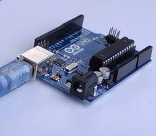 5pcsOne set new development  UNO R3 MEGA328P ATMEGA16U2 board for Arduino with cable