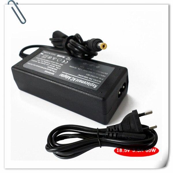 65 Вт AC адаптер ноутбука зарядное устройство для HP Pavilion dv1000 dv2000 dv4000-черной dv5000 dv6000 dv8000 портативный ноутбук шнур питания