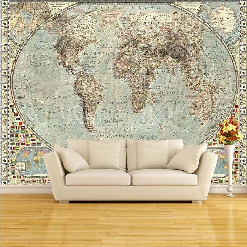 Hd Mural Custom Living Room