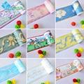 Cuarto de baño impermeable cintura pegatinas de pared kids room decor murales de pared autoadhesivas fronteras etiquetas engomadas del pvc wallpaper rollo de papel