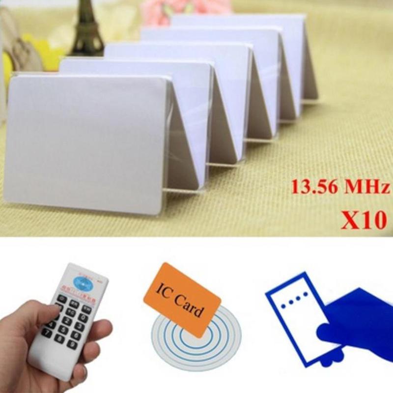 Handheld 125Khz 13 56MHZ Copier Duplicator Cloner RFID NFC IC card reader writer 3pcs 125KHZ 3pcs Handheld 125Khz-13.56MHZ Copier Duplicator Cloner RFID NFC IC card reader & writer + 3pcs 125KHZ +3pcs 13.56MHZ cards