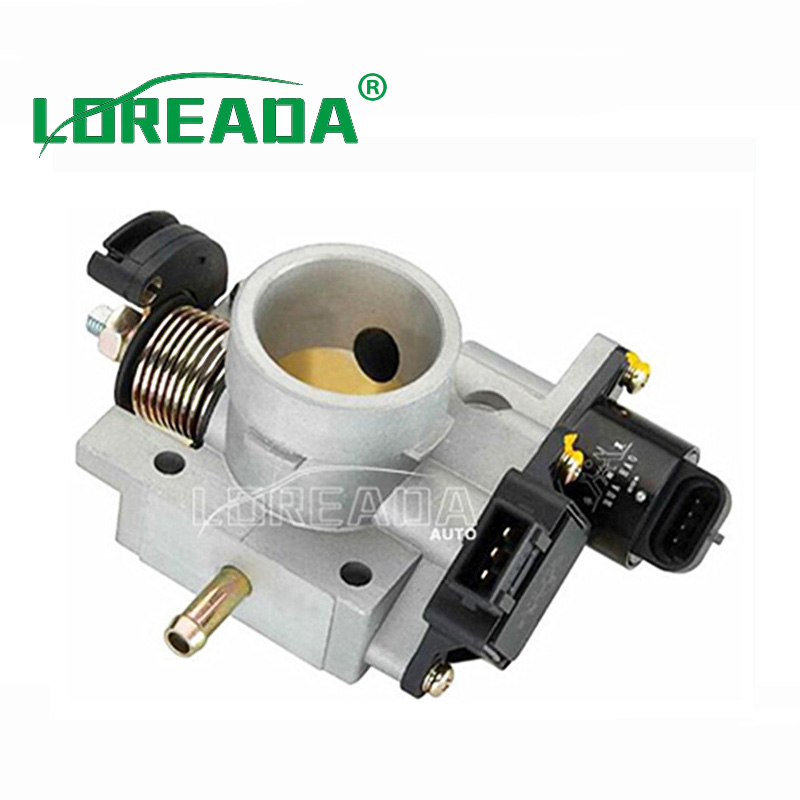 LOREADA Throttle body D35B for Chery QQ 1.0L/465 Engine UAES system Bore size 35mm OEM Quality Warranty 2 years oem qq 55hrc 420