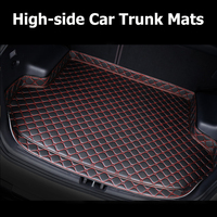 Car Trunk Mats for zotye t600 coupe Accessories Car Cargo Liner Boot Carpet Trunk Mats