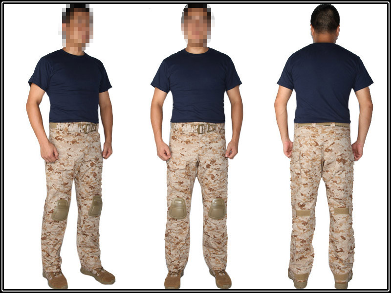 Emerson G3 Combat Pants AOR1 Digi2 tactical pants Leisure trousers EMERSON G3 Combat Knee Pads EM7026