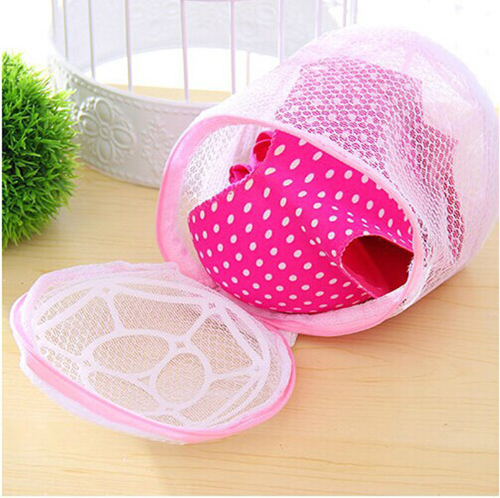 Lingerie Washing Home Use Mesh Clothing Underwear Organizer Washing Bag 15 X 15cm