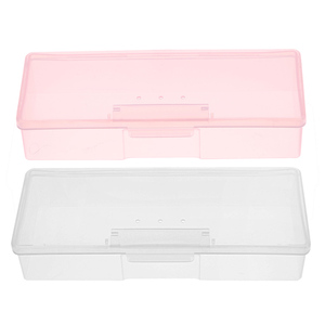 1PC Plastic Nail Tools Storage