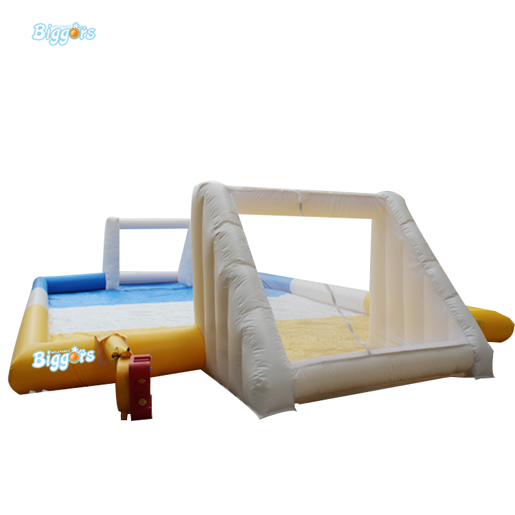 Inflatable Biggors PVC Material High Quality Inflatable Soccer Field Inflatable Sports Games For Event inflatable biggors high quality inflatable climbing town kids toy climbing wall games for rental