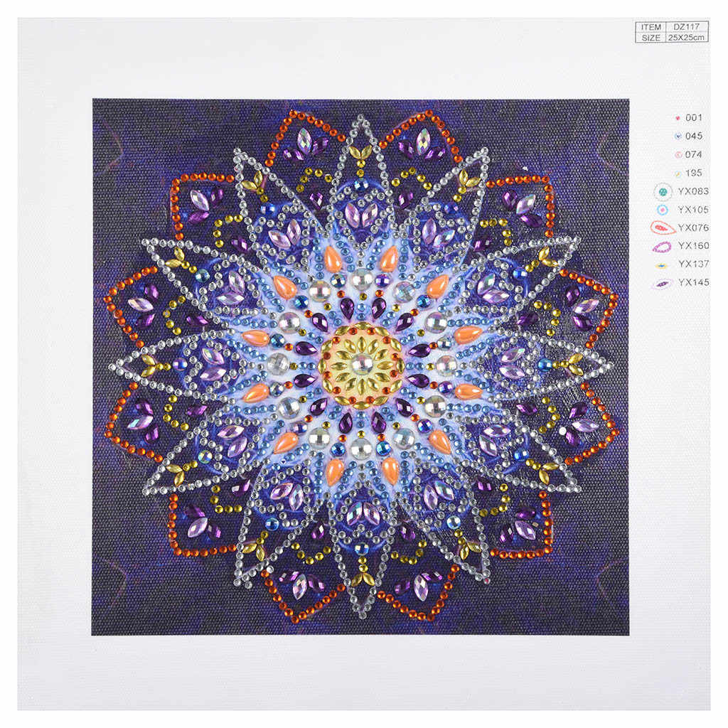 Special Shaped Diamond Painting DIY 5D Partial Drill Cross Stitch Kits Crystal R Diy Diamond Painting Cross needle Square