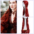 Игра престолов Мелисандра Парик Сезон 5 Косплей Sexy Lady Длинные Вьющиеся Волосы Реквизит