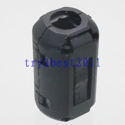 10pcs TDK ZCAT 2032-0930 RFI EMI Filter Ferrite Core Clip On 9mm Cable Black