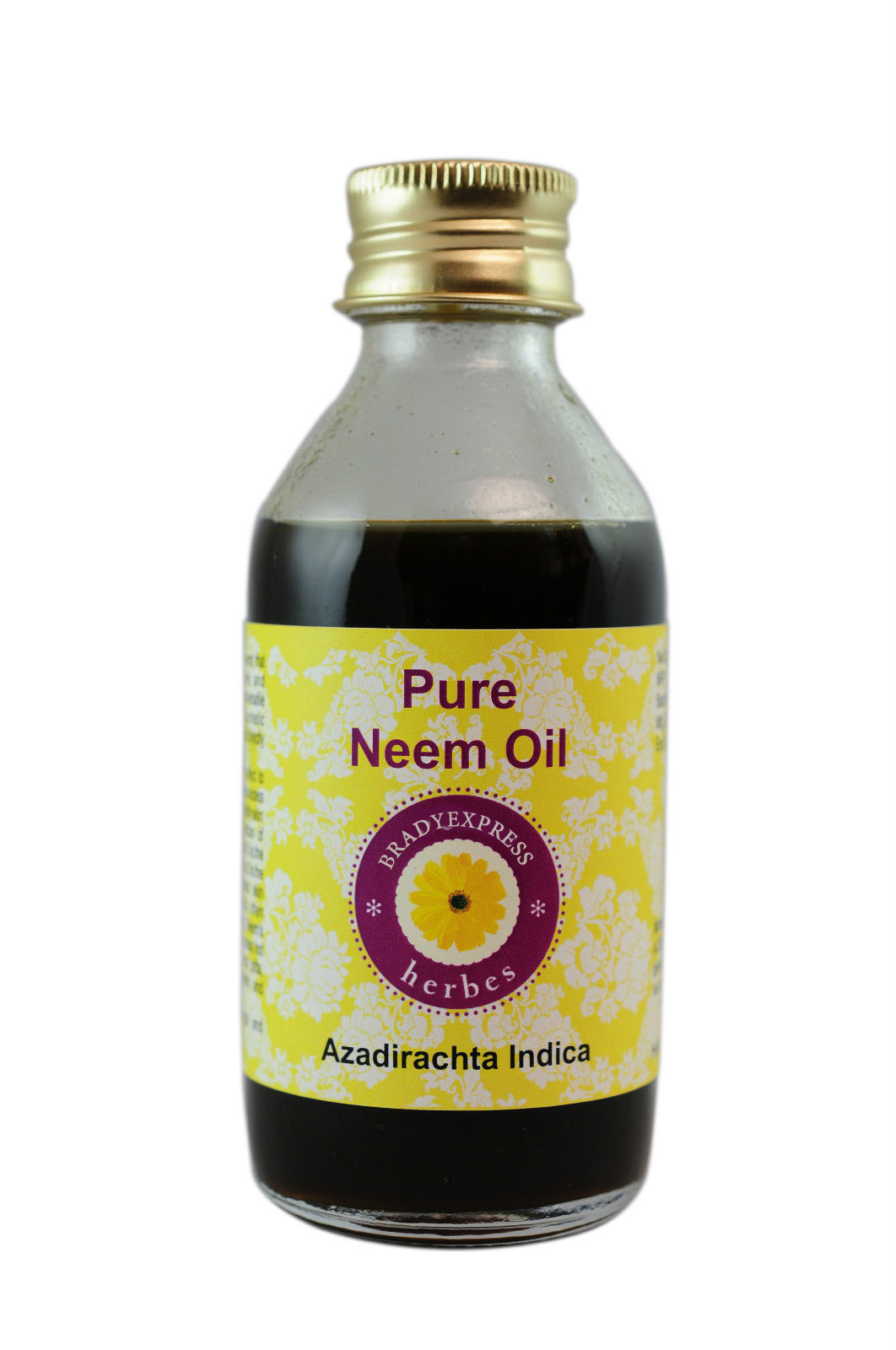FRee Shipping Pure Neem Oil Azadirachta Indica 100% Natural Cold Pressed Uncut Therapeutic Gr  5ML