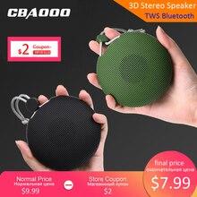 CBAOOO F5 TWS Portable Bluetooth speaker V5.0 Wireless Loudspeaker Sound System stereo Music surround Waterproof Outdoor Speaker