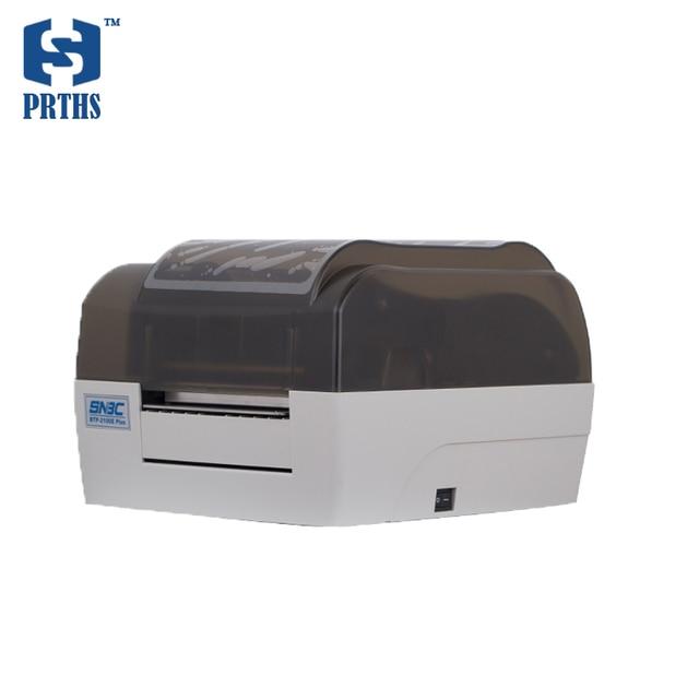 BTP-2100E плюс штрих-кодов ярлык принтера на рабочем столе с прозрачный дизайн корпуса для стиральная знак, ювелирные изделия тег, одежда ценник