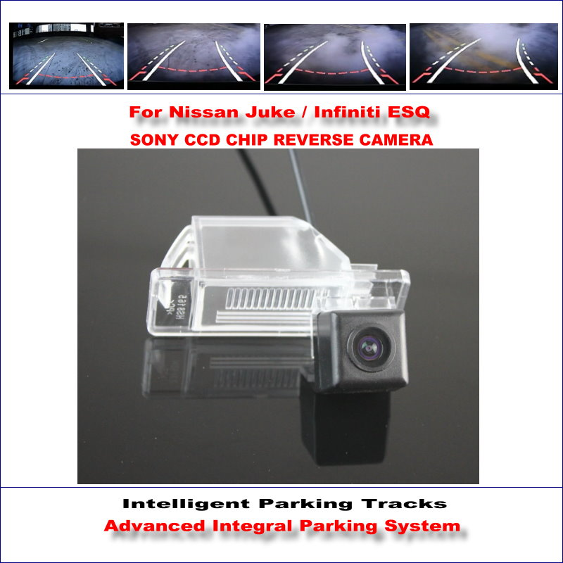 860 * 576 Pixels Back Up Camera For Nissan Juke / Infiniti ESQ Rearview Parking / 580 TV Lines Dynamic Guidance Tragectory
