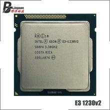 معالج انتل سيون E3 1230 v2 E3 1230v2 E3 1230 v2 3.3 GHz رباعي النواة 8M 69W LGA 1155
