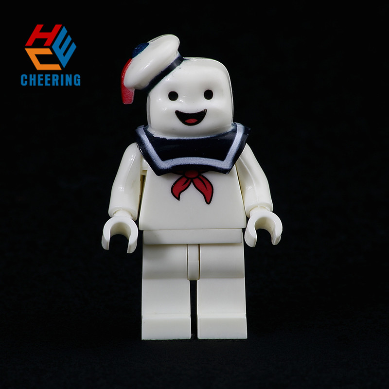 KF992 Single Sale Super Heroes Stay Puft  Man The Human Finn Building Blocks Figures Action For Children Toys Gift