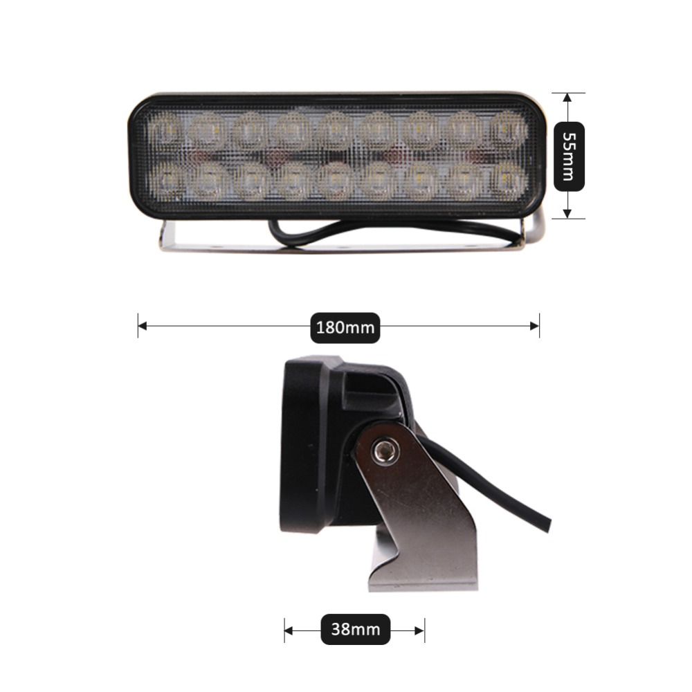 TC-X 7 ιντσών 18 x 3W φως LED φώτα Ultra - Φώτα αυτοκινήτων - Φωτογραφία 4